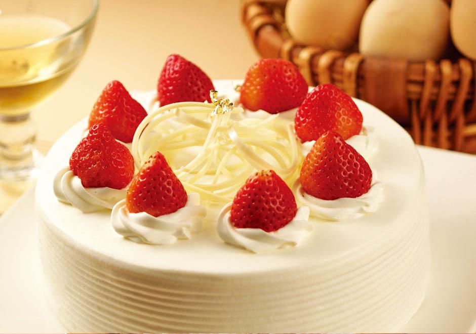 草莓布丁生日蛋糕/6吋