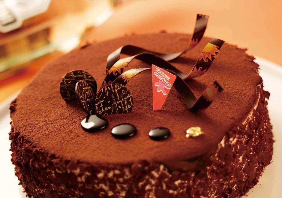 比利時巧克力生日蛋糕/6吋