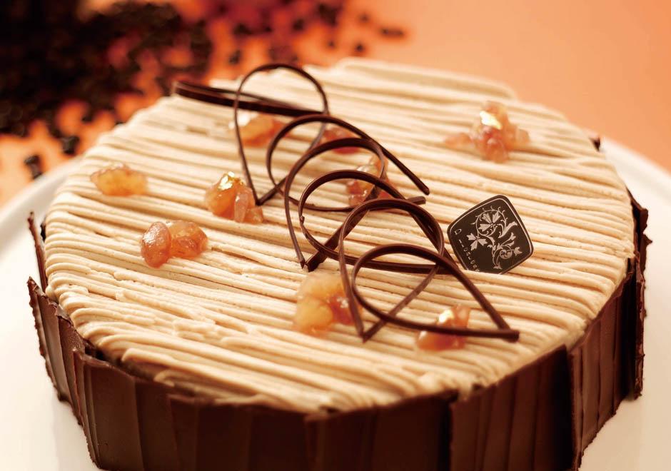 蒙布朗生日蛋糕/6吋