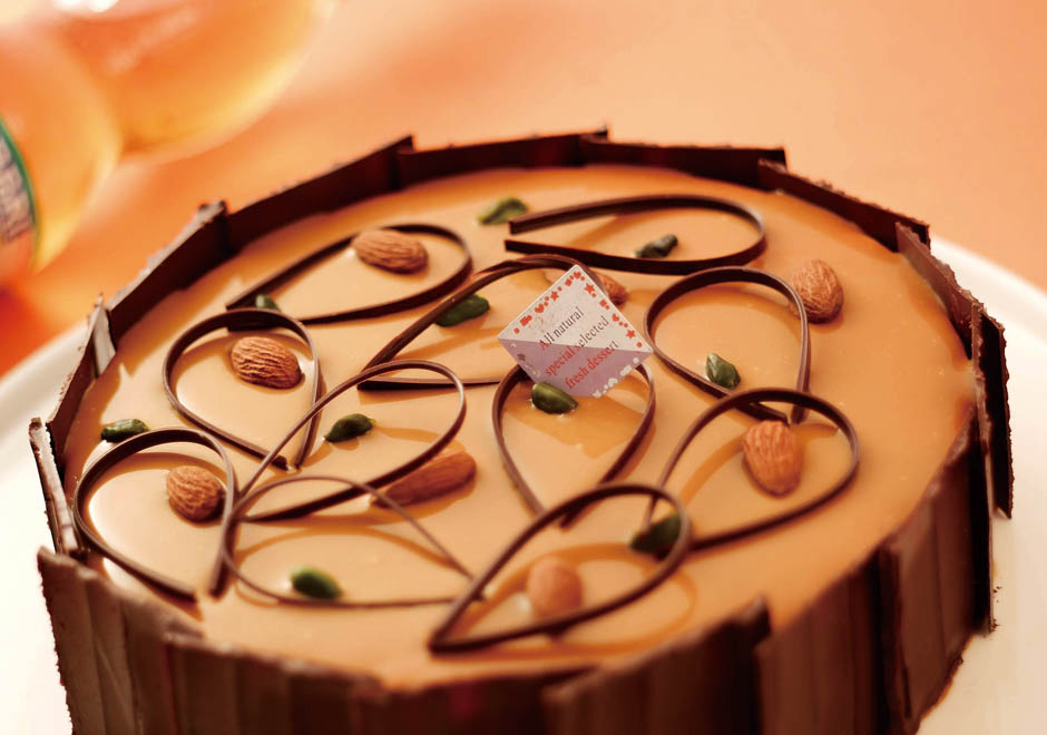 焦糖慕斯生日蛋糕/6吋